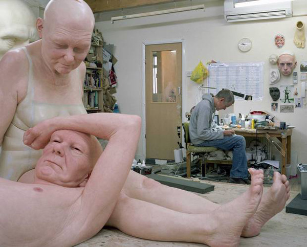 Ron Mueck photo de gautier deblonde