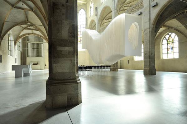 installation de l'artiste Angela glajcar
