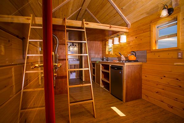 La maison cabane monarque