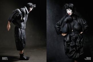 styliste japonnaise rei kawakubo dans le blog Des vertes et des murmures