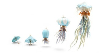 """cybele young sculpture papier dans le blog """"des vertes et des murmures"""""""